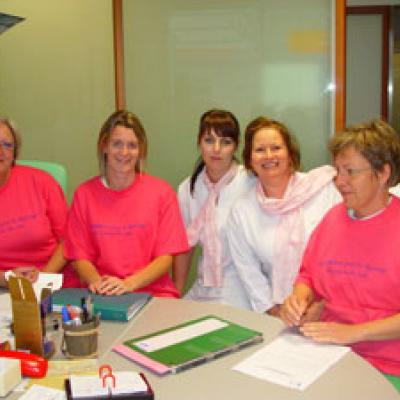 L'Hôpital de Troyes en rose pour Octobre Rose - Le dépistage du Cancer du Sein