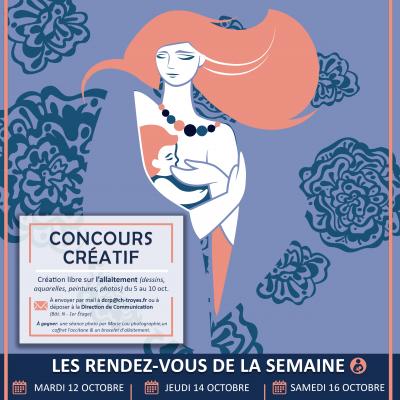 23ème Semaine Mondiale de l'Allaitement Maternel