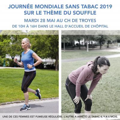JOURNEE MONDIALE SANS TABAC - MARDI 28 MAI AU CHT