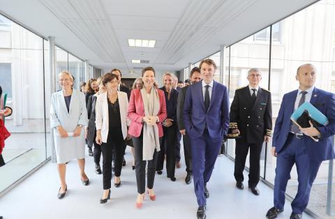 Visite De Mme Agnes Buzyn Ministre Des Solidarites Et De La Sante