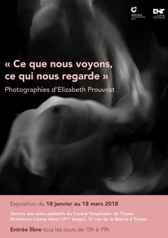 Exposition de photographies d'Elizabeth Prouvost du 18 janvier au 18 mars 2018
