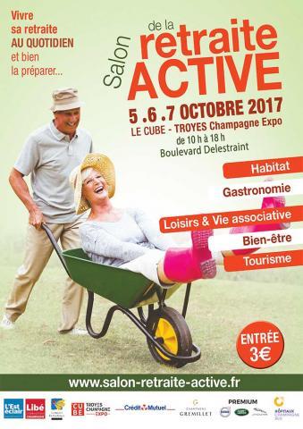 Les Hôpitaux Champagne Sud au salon de la retraite active
