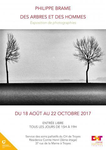 Exposition de photographies de Philippe Brame du 18 août au 22 octobre 2017