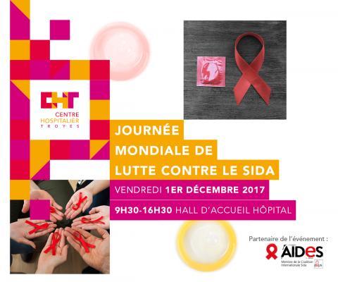 Journée mondiale contre le sida - Vendredi 1er décembre au CHT
