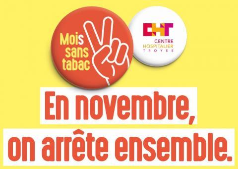 Moi(s) sans tabac 2018 : en novembre, on arrête ensemble !
